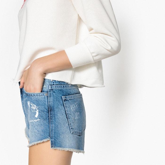 Shorts in denim con orlo grezzo  La Redoute Collections image 0