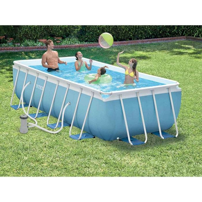 piscine tubulaire rectangulaire 4 00 x 2 00 x 1 00 m. Black Bedroom Furniture Sets. Home Design Ideas