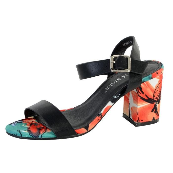 Sandales noir noir Enza Nucci