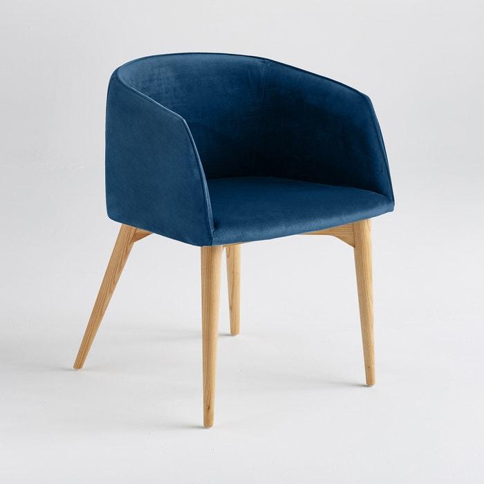 fauteuil de table velours clancy am pm la redoute. Black Bedroom Furniture Sets. Home Design Ideas