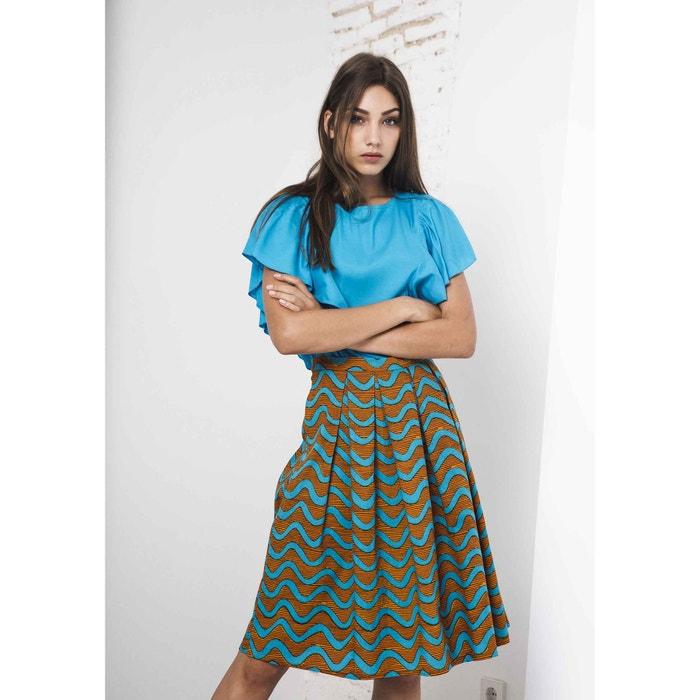 Tribal Print 3/4 Length Midi Pencil Skirt  COMPANIA FANTASTICA image 0