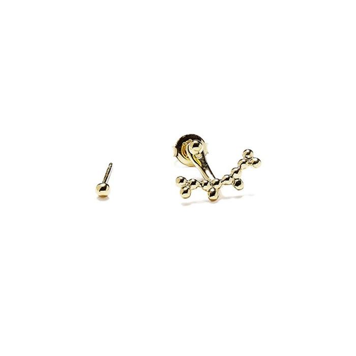 Bijou dessous d'oreille en vermeil trois perles or Agnes De Verneuil   La Redoute Faux À Vendre Jeu Grande Vente 100% Authentique Prix Pas Cher Footlocker Jeu Finishline Vente Dernière lv4mcWc