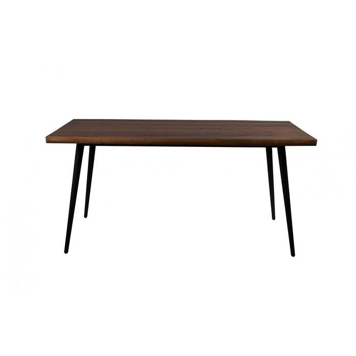 table de salon industrielle alagon dutchbone marron dutchbone la redoute. Black Bedroom Furniture Sets. Home Design Ideas