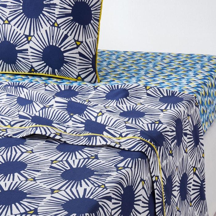 Housse de couette imprim e blue riviera la redoute - La redoute linge de lit ...