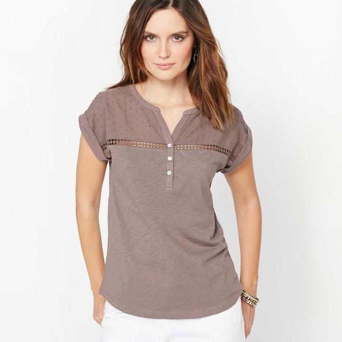 Cotton Slub T-shirt.