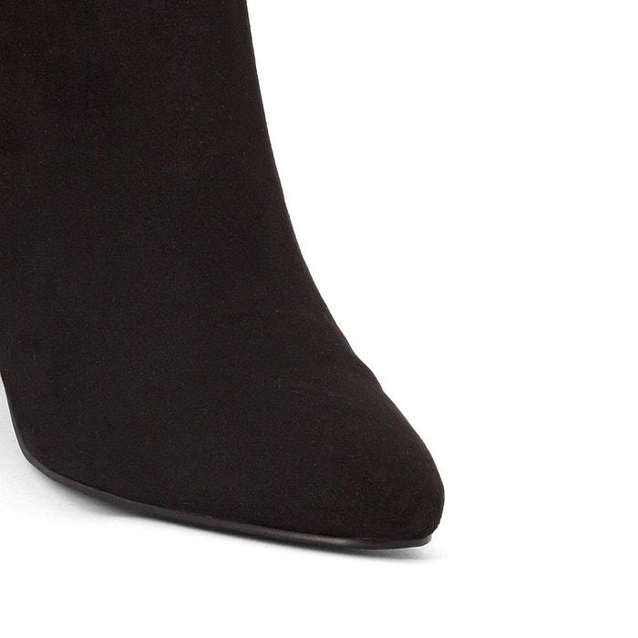 Boots détail nœud noir La Redoute Collections