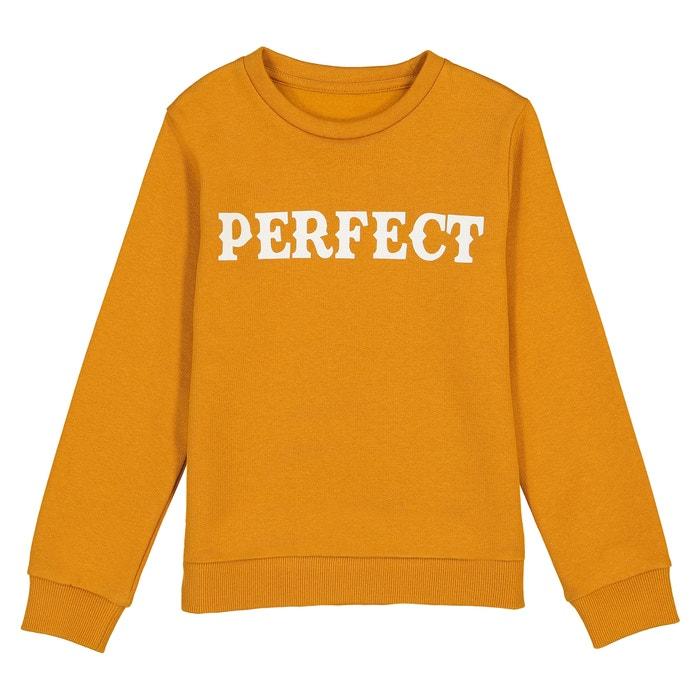 'Perfect' Sweatshirt, 3-12 Years  La Redoute Collections image 0