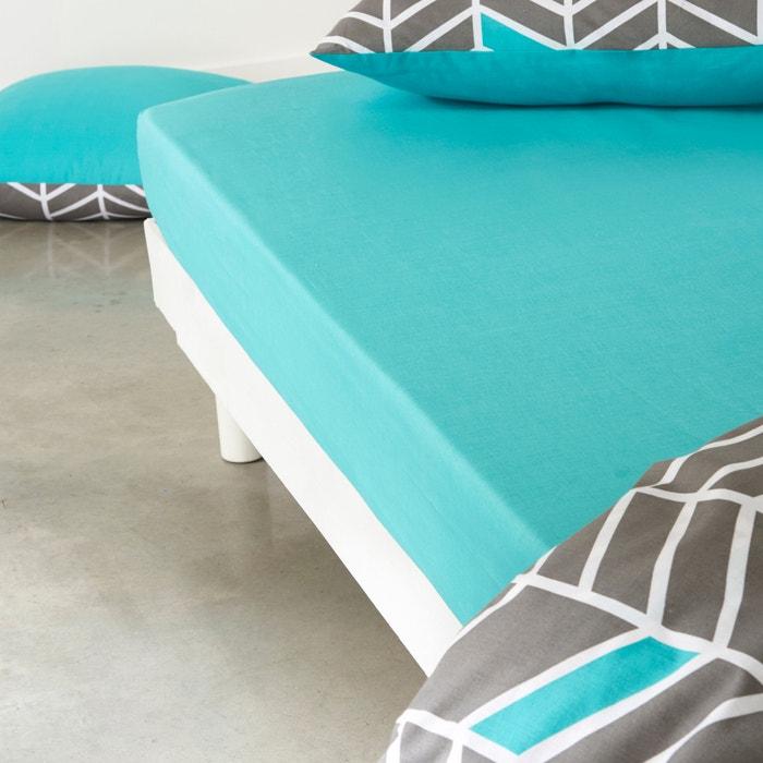 Image Drap-housse, pur coton Tobison La Redoute Interieurs