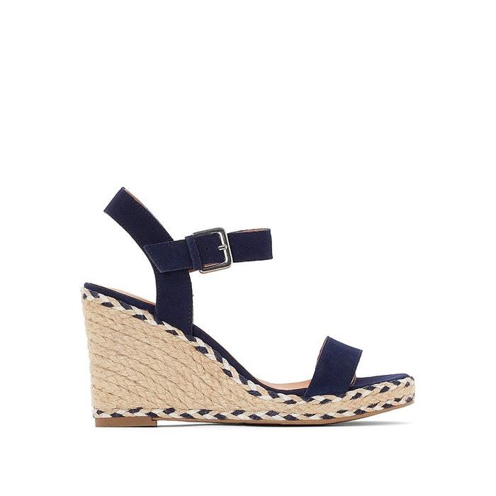 Sandales cuir La Redoute Collections