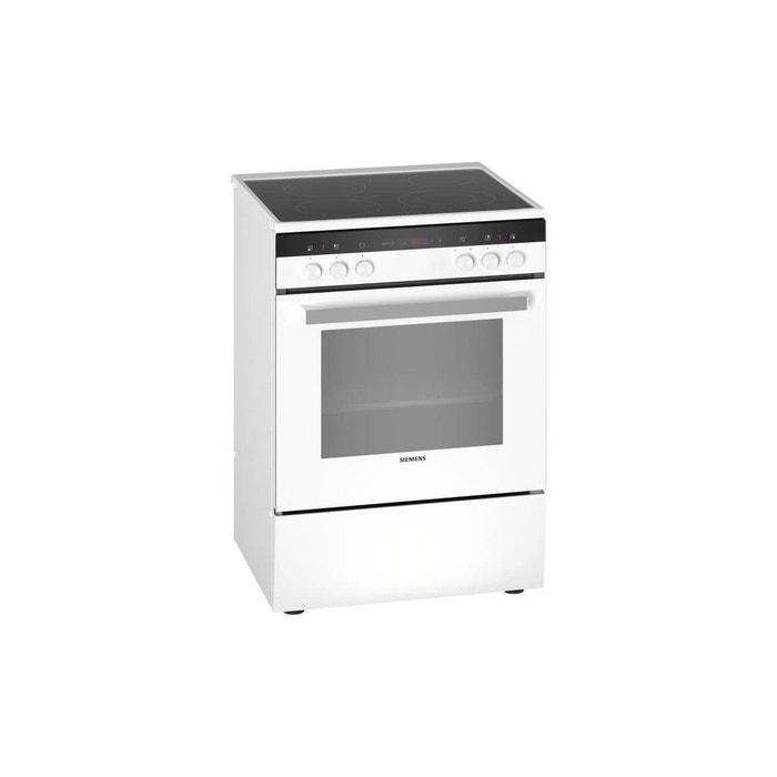 la meilleure attitude 9c204 d30ea Hk9r4r120 - Cuisiniere Electrique - 4 Foyers Quick - Four Multifonction -  Pyrolyse - 63 L - A - L 60 Cm - Blanc