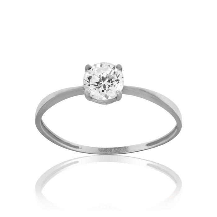 Bague or 375/1000 diamants blanc Cleor | La Redoute Achat Frais De Port Offerts XMEAoRszWM