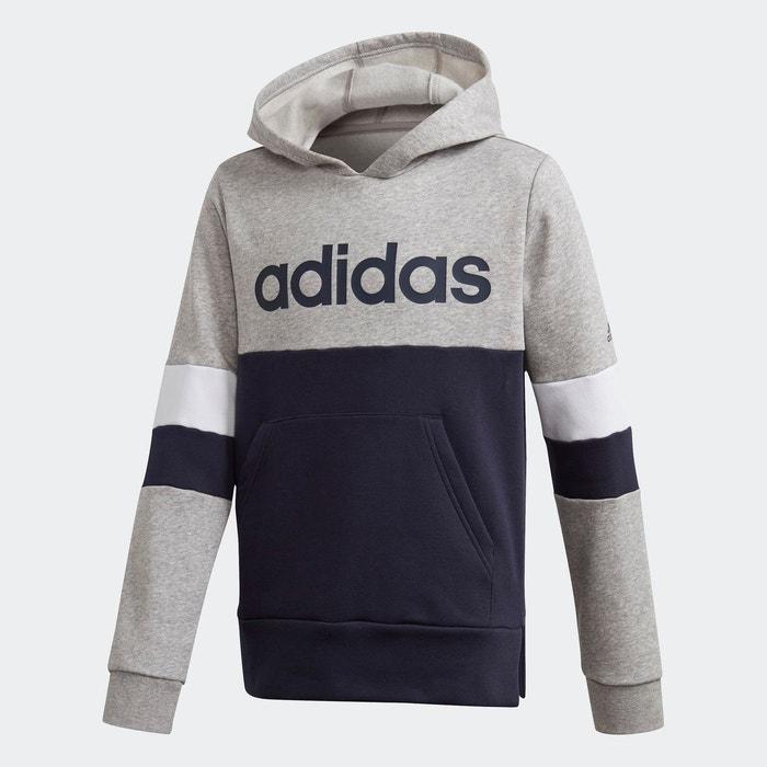 Sweat shirt Linear Colorblock Hooded Fleece