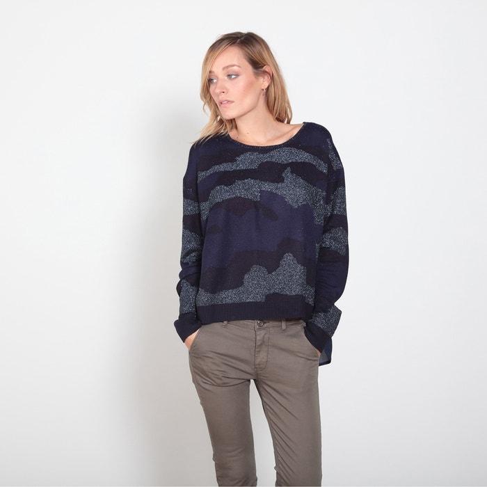 afbeelding Trui in fijn tricot met ronde hals LE TEMPS DES CERISES