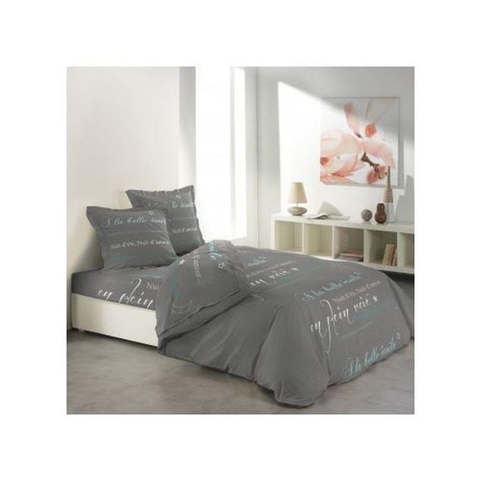 parure de draps imprim e en plein r ve multicolore home maison la redoute. Black Bedroom Furniture Sets. Home Design Ideas