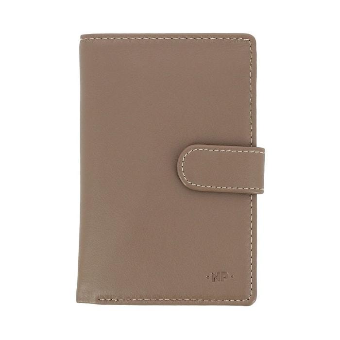 383c20c5b700 Nuvola pelle portefeuille grand pour femme en cuir nappa avec bouton porte- monnaie et 12 pochettes porte-cartes de crédit Nuvola Pelle