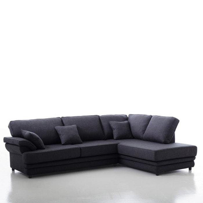 afbeelding Hoekcanapé, vast model, uitstekend comfort, mêlee, Newcastle La Redoute Interieurs