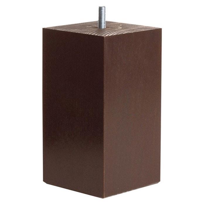 afbeelding Vierkante poten voor beddenbodem, hoogte. 15 cm (set van 4) La Redoute Interieurs
