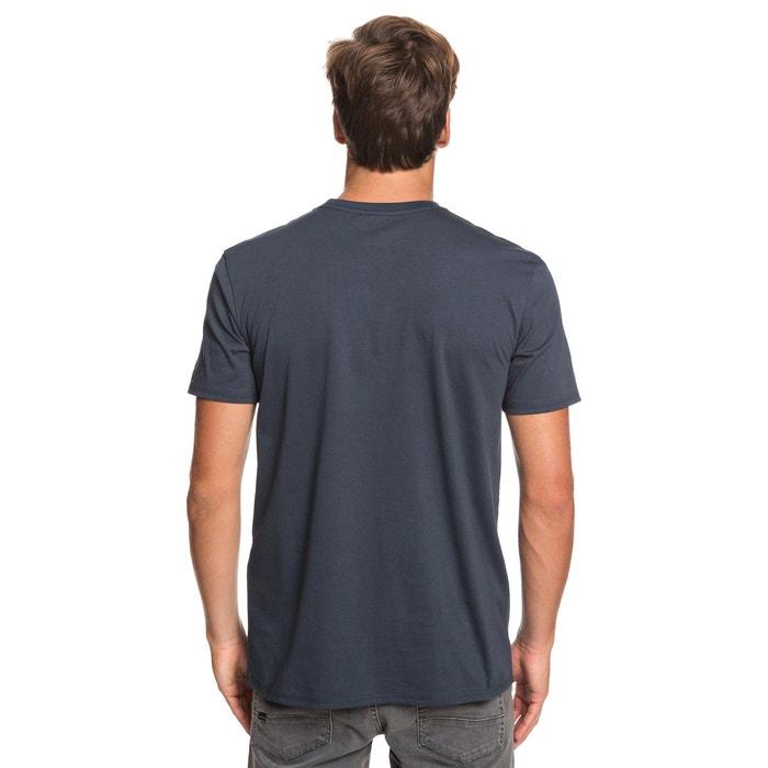 manga cuello corta con y redondo QUIKSILVER Camiseta nq7w6X8