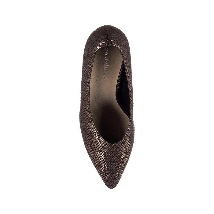 con de puntera Zapatos CASTALUNA tac de pico satinados 243;n AXUggfWqw