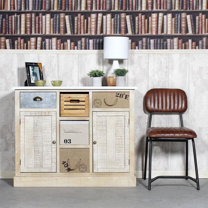 buffet mdf blanchi carnac fcj26 bois made in meubles la redoute. Black Bedroom Furniture Sets. Home Design Ideas