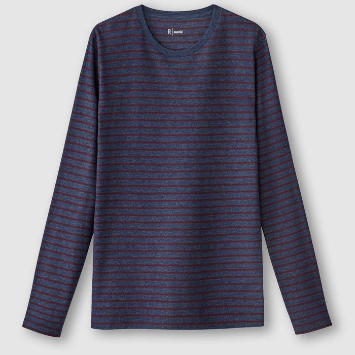 Image T-shirt w paski z długimi rękawami R essentiel