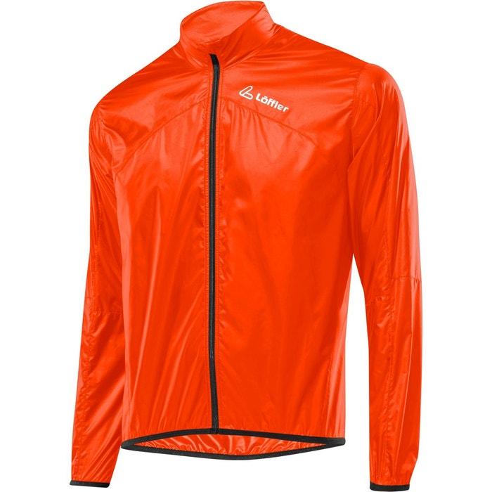 Windshell Veste Homme orange