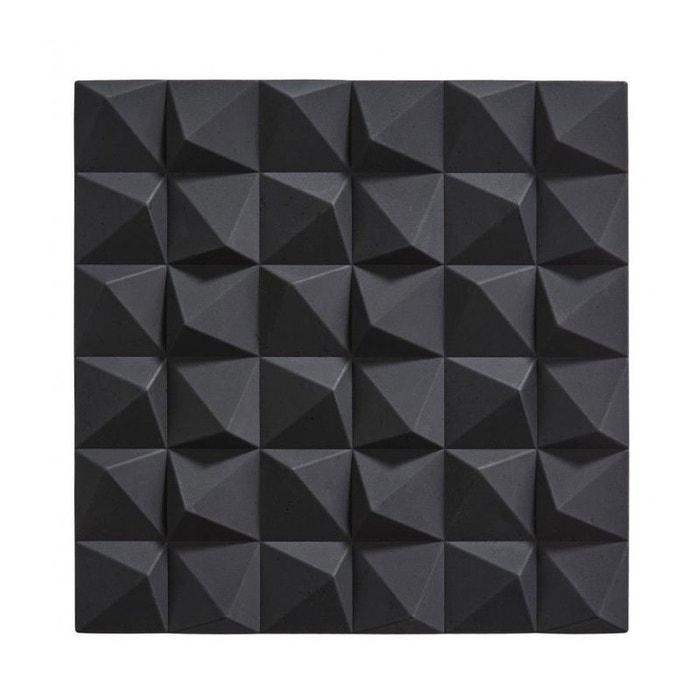 Dessous de plat design origami silicone noir noir Wadiga | La Redoute
