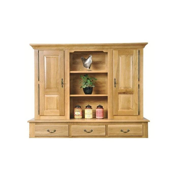 vaisselier 2 portes en ch ne mansart ch ne clair hellin depuis 1862 la redoute. Black Bedroom Furniture Sets. Home Design Ideas