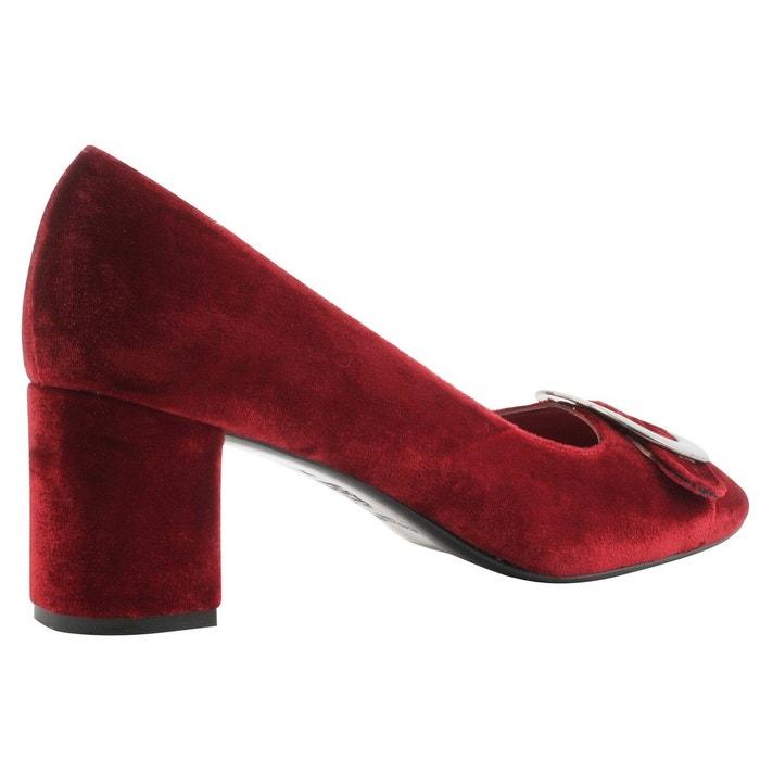 Chaussures à talons romy rouge Exclusif Paris