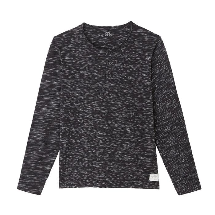 T-shirt met tuniekhals en lange mouwen  La Redoute Collections image 0