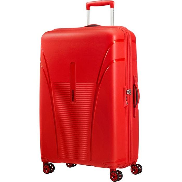 Valise rigide American Tourister Skytracer 77 cm Formula Red rouge KAhcPPn