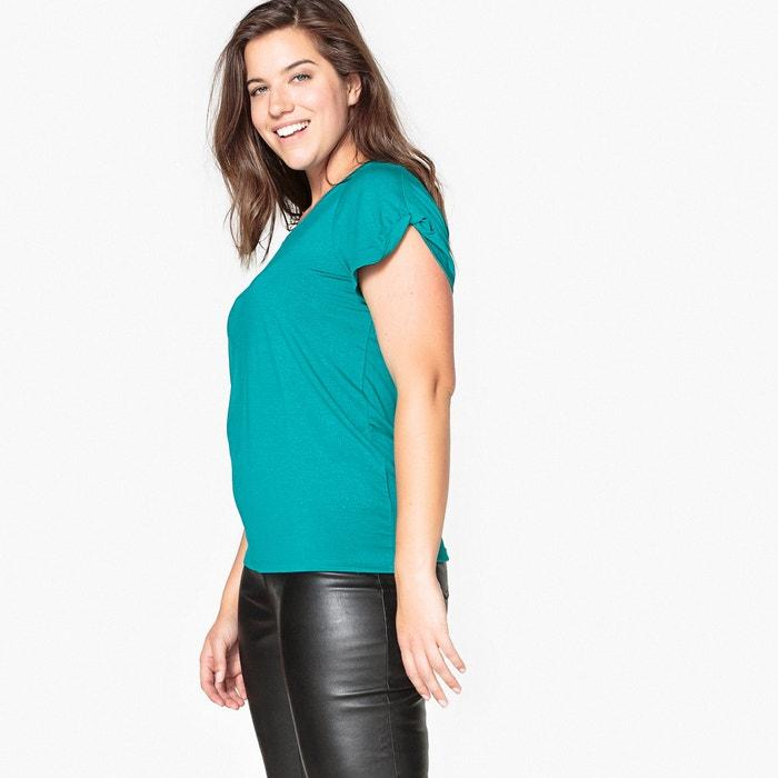 T-shirt scollo rotondo brillante  CASTALUNA image 0