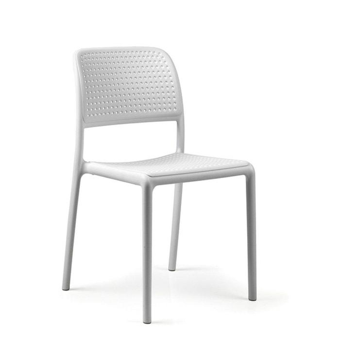 chaise en resine pour jardin terrasse bora bistrot nardi la redoute. Black Bedroom Furniture Sets. Home Design Ideas