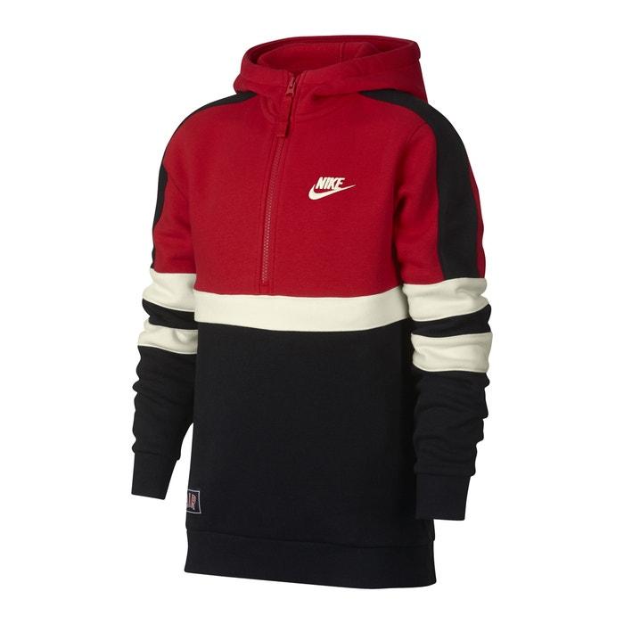 69a28bd87 Sports sweatshirt 6-16 years , black/red/white, Nike | La Redoute