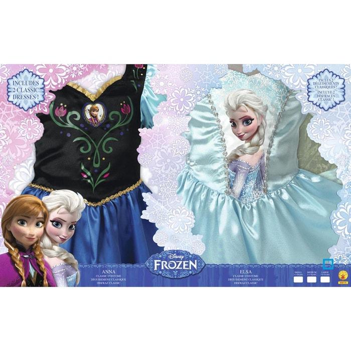 Déguisements La Reine des Neiges (Frozen)   Coffret Classique Elsa + Anna    5 d442ee8aec99