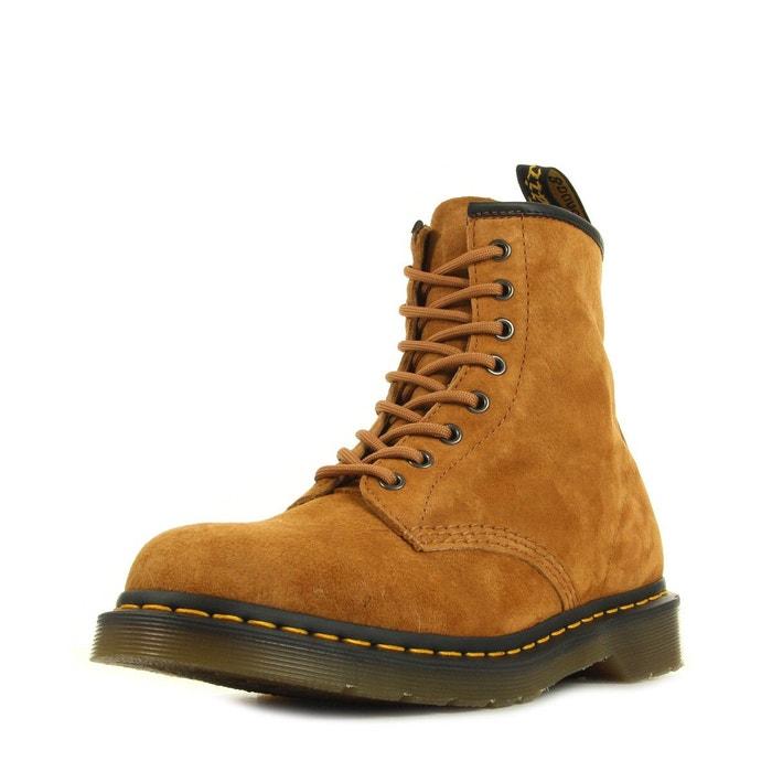boots dr martens 1460 21466220 marron noir dr martens la redoute. Black Bedroom Furniture Sets. Home Design Ideas