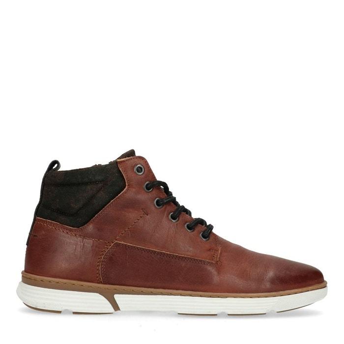 SACHA lacets Boots SACHA en cuir lacets cuir en SACHA lacets Boots cuir SACHA Boots en Boots en lacets wv6C7n