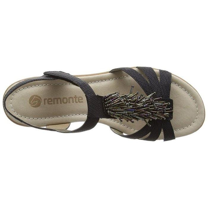 Sandales noir Remonte Parfait Pas Cher En Ligne 5fZTQ6
