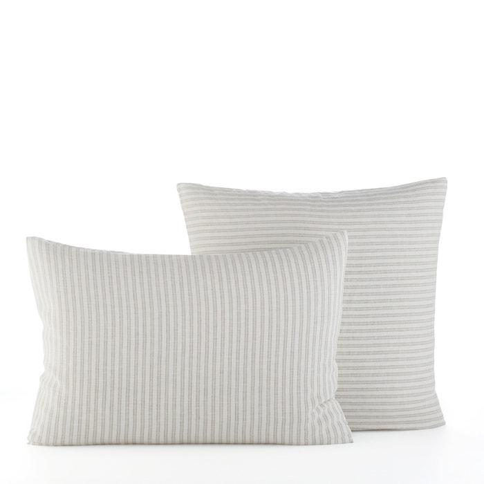 Kalaya Striped Linen Pillow Case  AM.PM. image 0