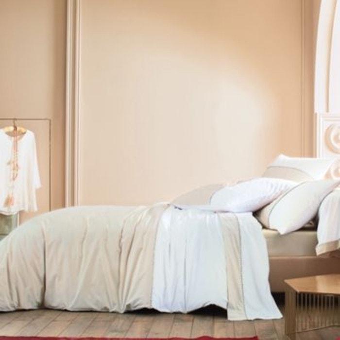 drap housse percale mystery blanc des vosges autre blanc des vosges la redoute. Black Bedroom Furniture Sets. Home Design Ideas