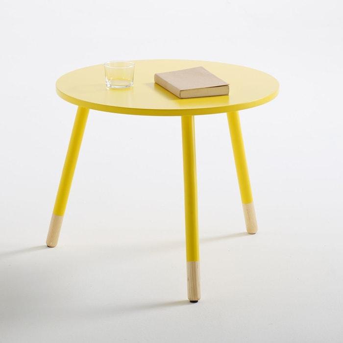 table basse janik jaune la redoute interieurs la redoute. Black Bedroom Furniture Sets. Home Design Ideas