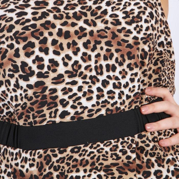 por KOKO recto la largo rodilla mangas sin estampado Vestido BY KOKO ABwYP