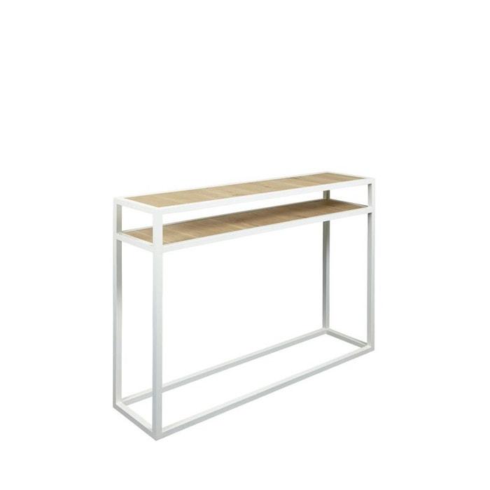 Console bois et métal 90cm diva Drawer | La Redoute