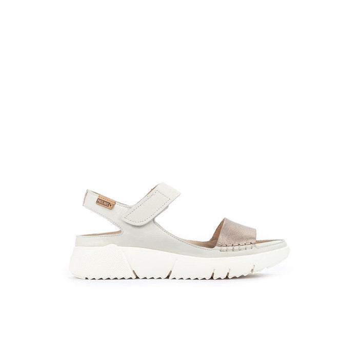 Sandales compensées en cuir PETRA W0C