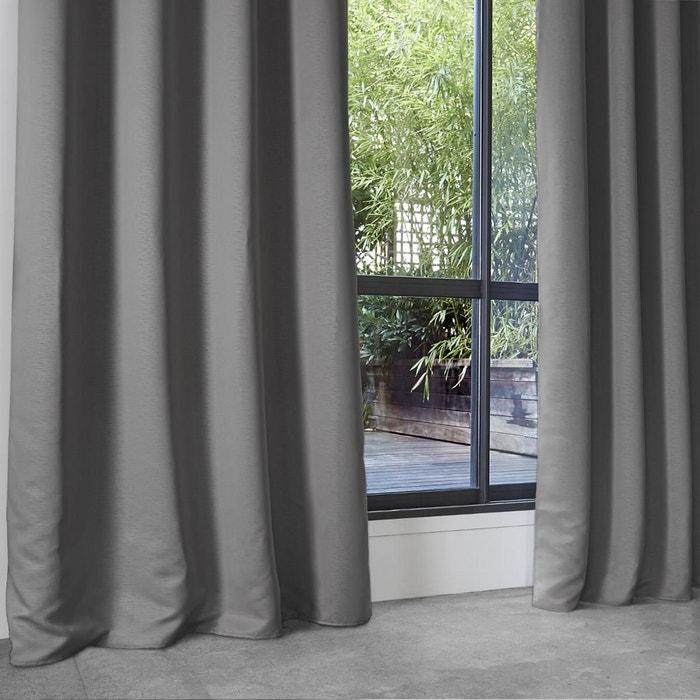 rideau occultant uni en polyester home maison la redoute. Black Bedroom Furniture Sets. Home Design Ideas