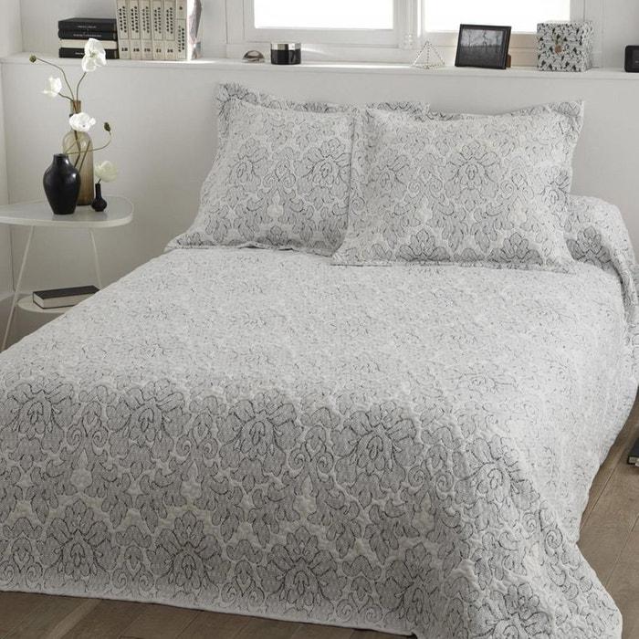 parure couvre lit charlie viscose 100 polyester multicolore tradition des vosges la redoute. Black Bedroom Furniture Sets. Home Design Ideas