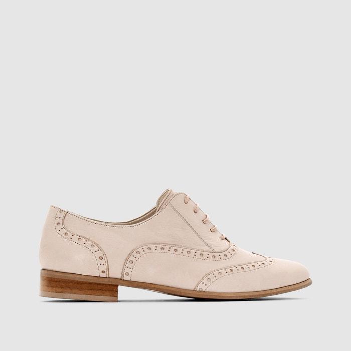 фото Ботинки-дерби кожаные CASTALUNA
