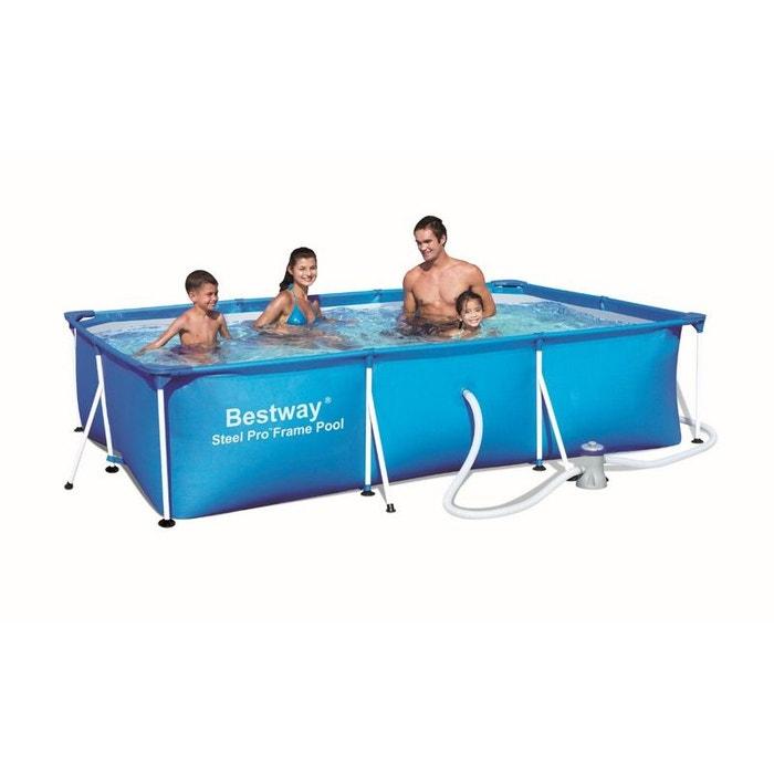 piscine tubulaire rectangulaire family splash frame pools. Black Bedroom Furniture Sets. Home Design Ideas
