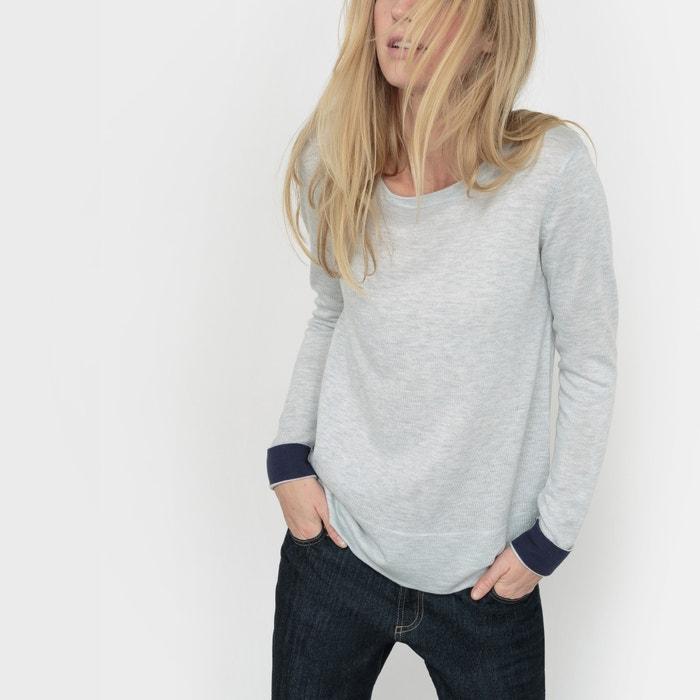 bicolor mezcla Collections lana de Redoute Jersey La cB7ttz