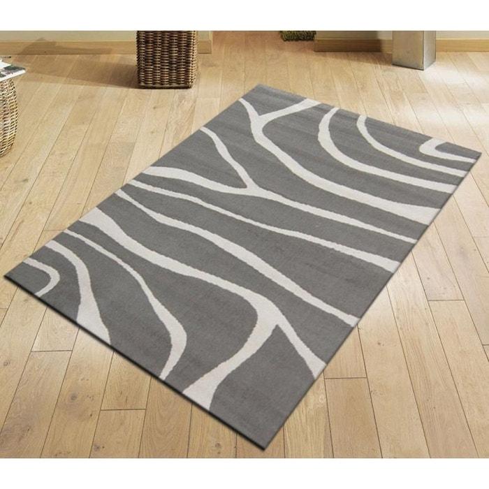 tapis moderne paris gris gris natacha b la redoute. Black Bedroom Furniture Sets. Home Design Ideas